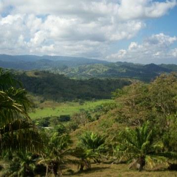 Vista de la comunidad de Santa Isabel, lado de tierra firme, Provincia de Colon.