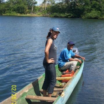 Inspeccion de rescate de Fauna, Lago Gatun,Provincia de Colon.