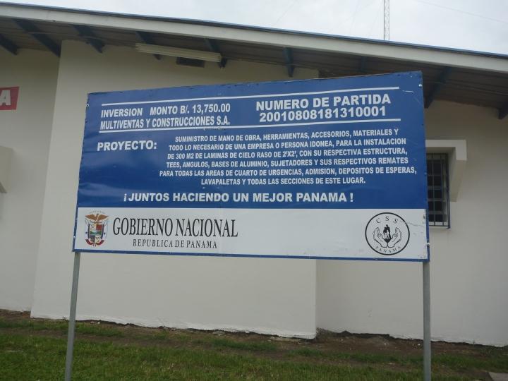 Levantamineto de datos para confeccionar el Estudio de Impacto Ambiental de cada lugar, adicional se realizaron visitas con el mismo proposito en Los Santos, y Colon.